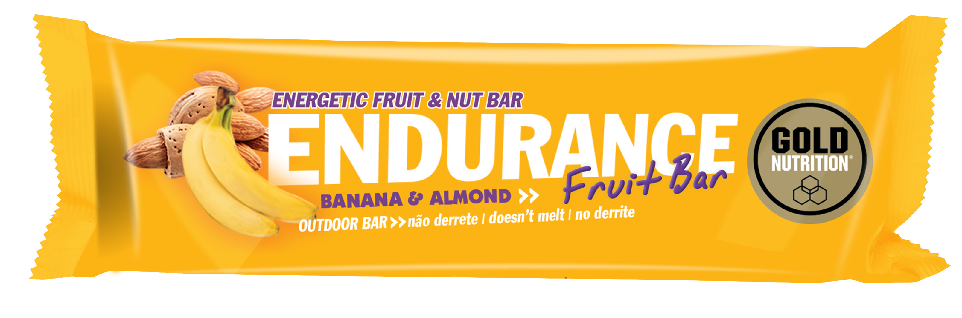 GOLDNUTRITION ENDURANCE FRUIT BAR BANANE 40G