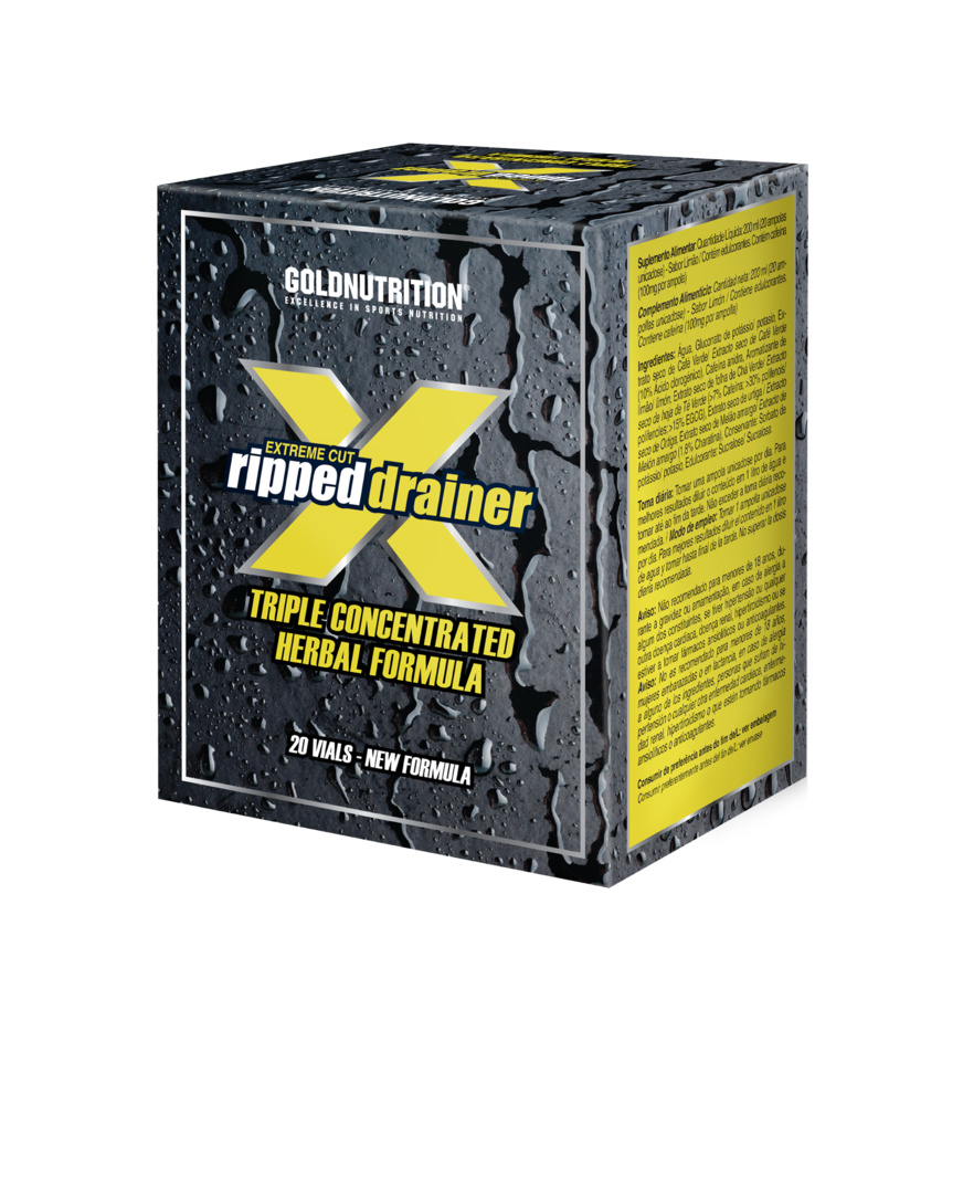 GOLDNUTRITION EXTREME CUT RIPPED DRAINER 200 ML  20 UNIDOZE
