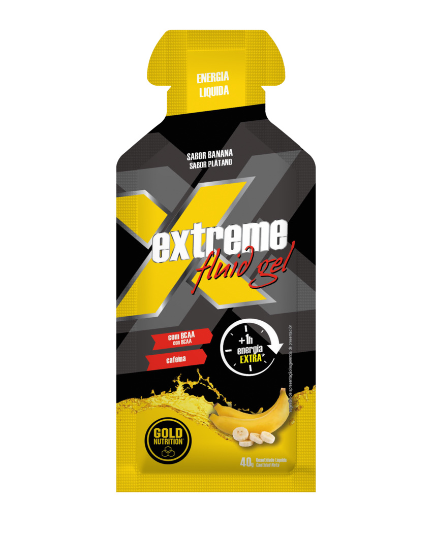GOLD NUTRITION EXTREME FLUID GEL BANANE * 40G