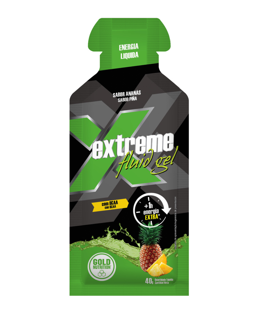 GOLD NUTRITION EXTREME FLUID GEL ANANAS * 40G