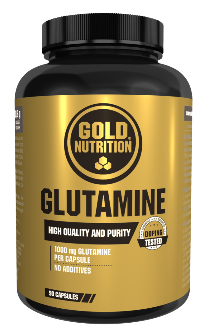 GOLDNUTRITION GLUTAMINE 1000 MG  90CPS