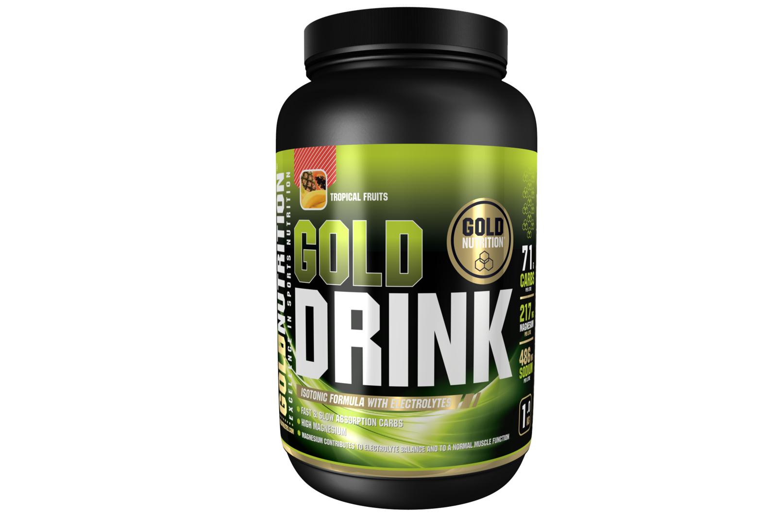 GOLDNUTRITION GOLD DRINK TROPICAL 1 KG