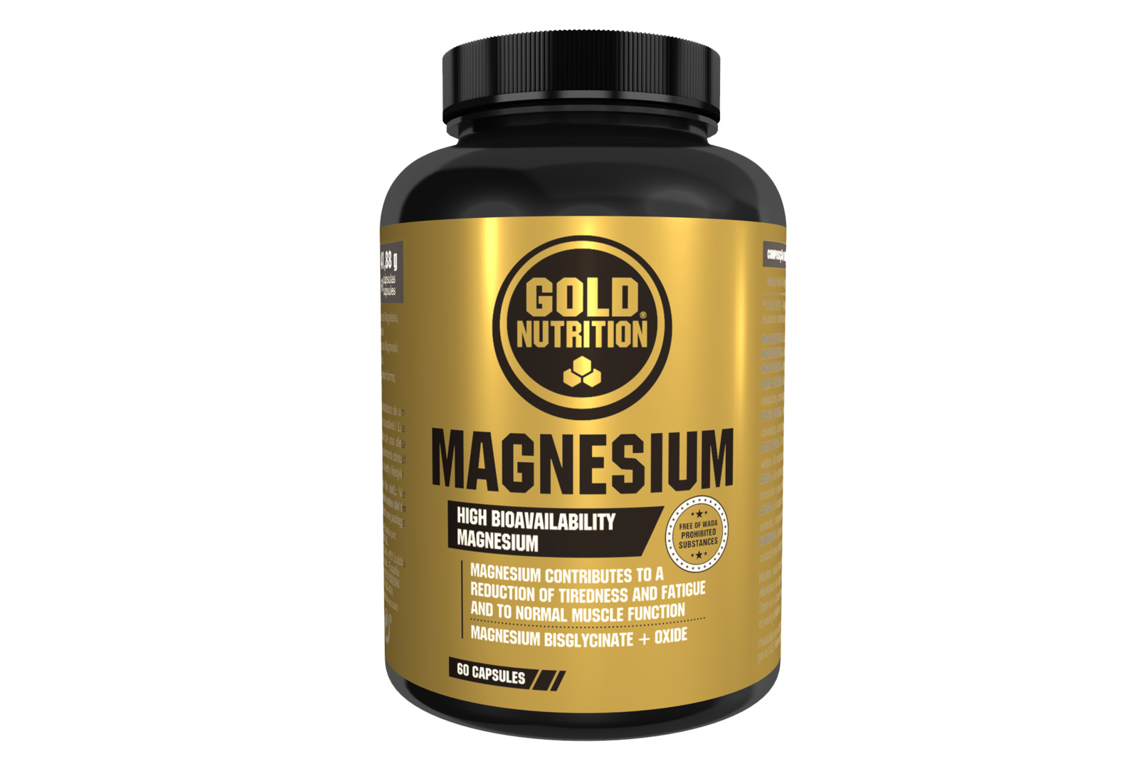 GOLDNUTRITION MAGNEZIU 600 MG 60 CPS