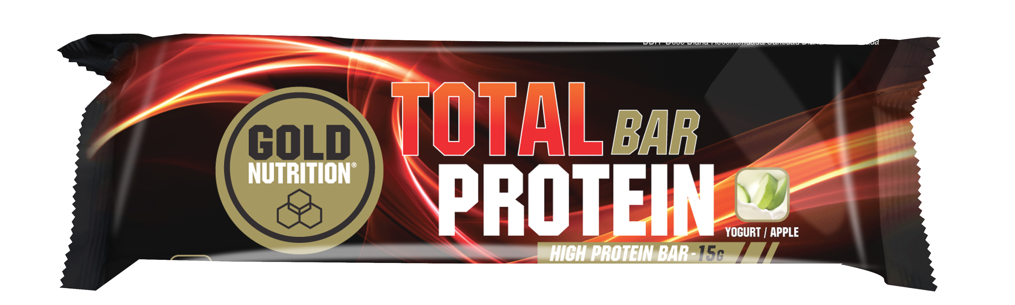 GOLDNUTRITION TOTAL PROTEIN BAR IAURT/MERE 46 G