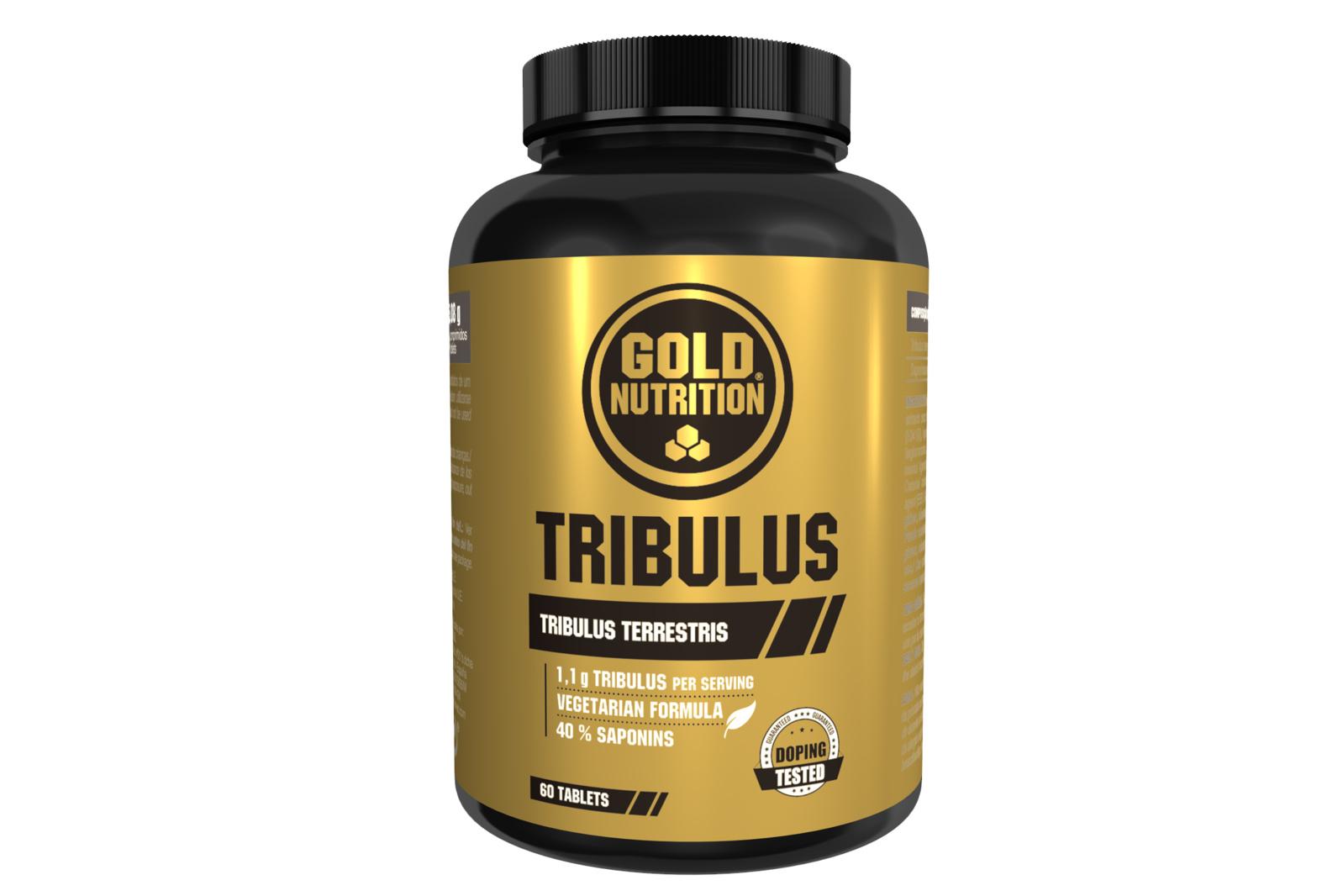 GOLDNUTRITION TRIBULUS 550 MG 60 CPS