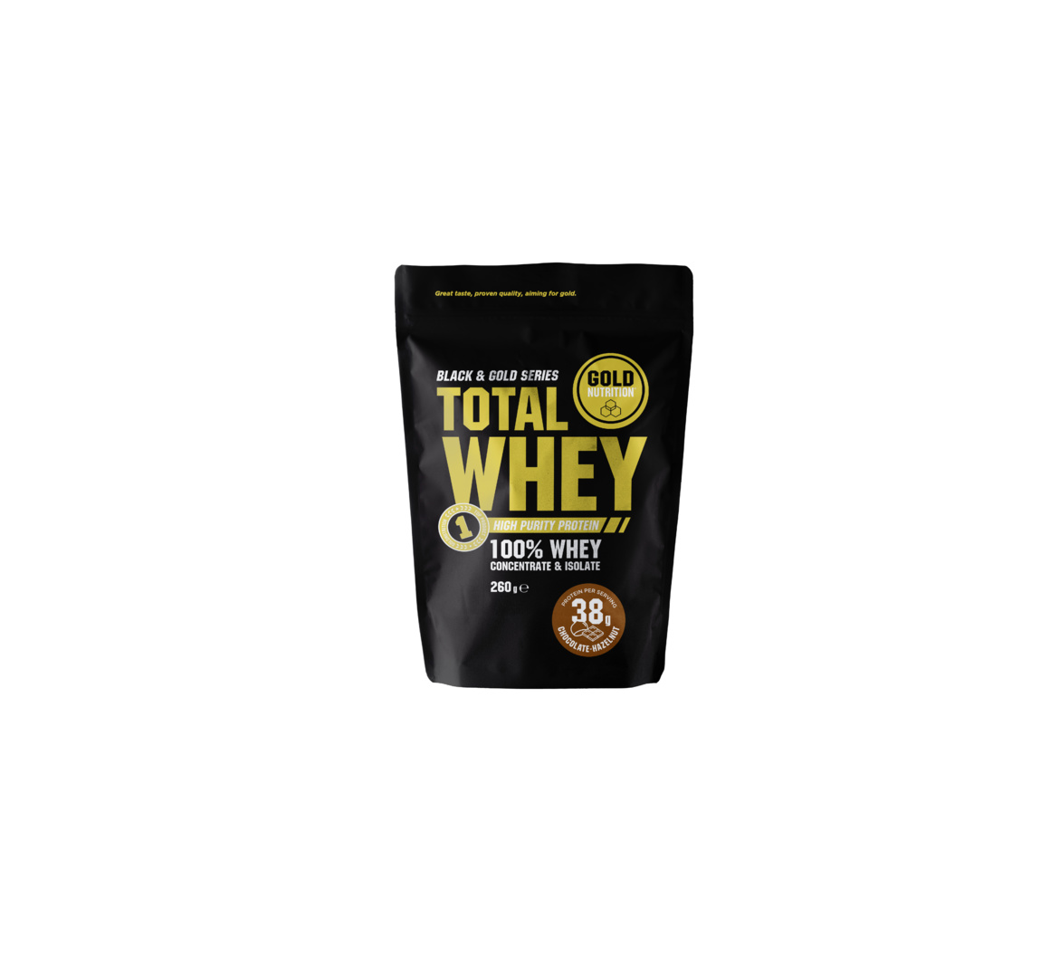 GOLDNUTRITION TOTAL WHEY CIOCOLATA SI ALUNE 260GR