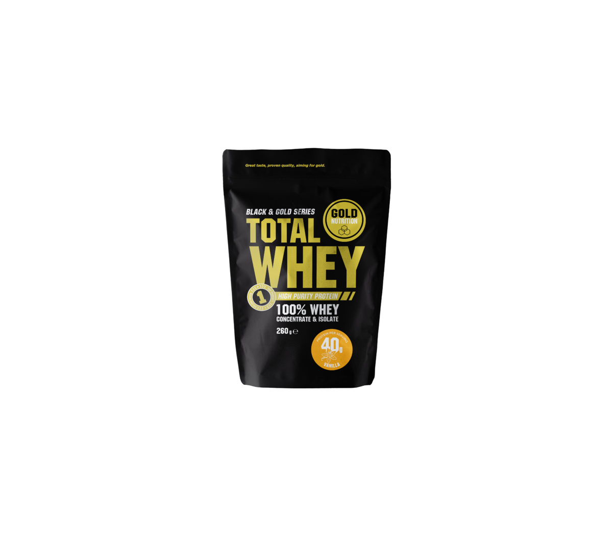 GOLDNUTRITION TOTAL WHEY VANILIE 260GR
