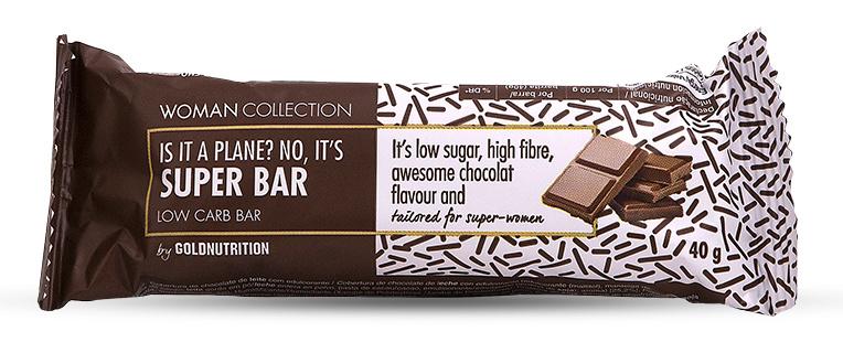 Woman Collection Super bar - Baton low carb ciocolata 40g