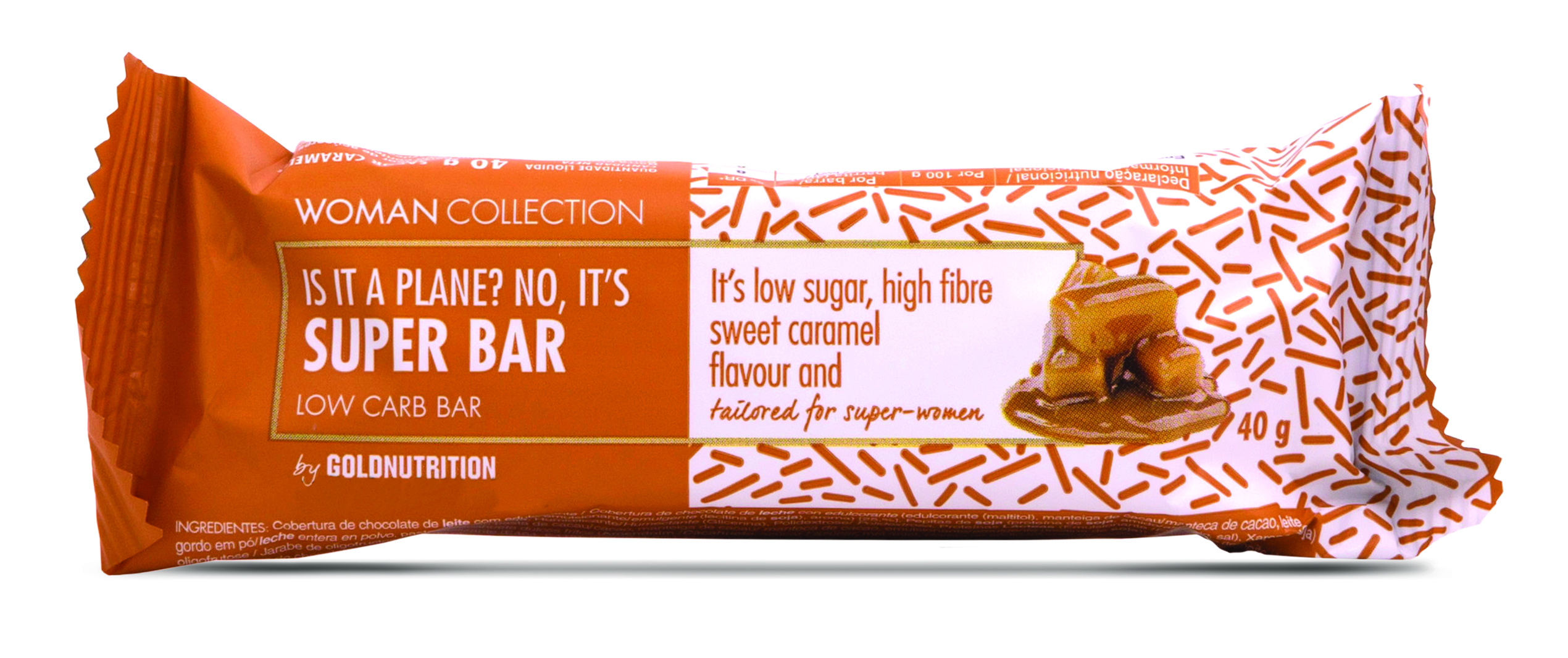 Woman Collection Super bar - Baton low carb caramel 40g