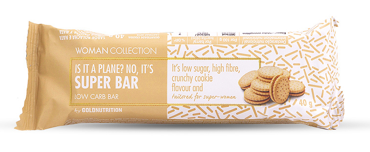 Woman Collection Super bar - Baton low carb biscuiti 40g