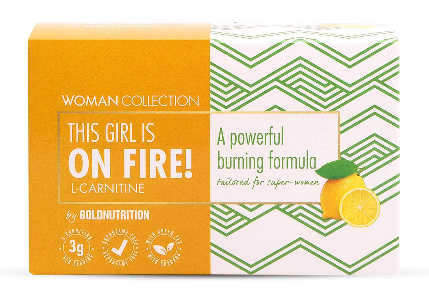 Woman Collection On Fire - L-carnitina Lamaie 15 doze