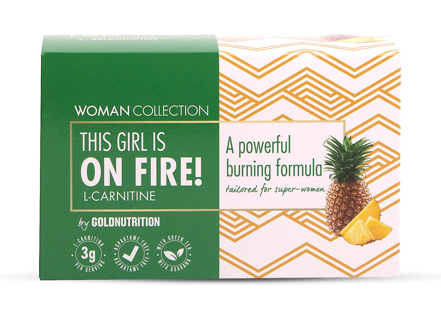 Woman Collection On Fire - L-carnitina Ananas 15 doze