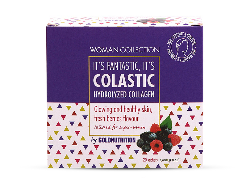 Woman Collection Colastic - Colagen hidrolizat Fructe de padure 20 doze