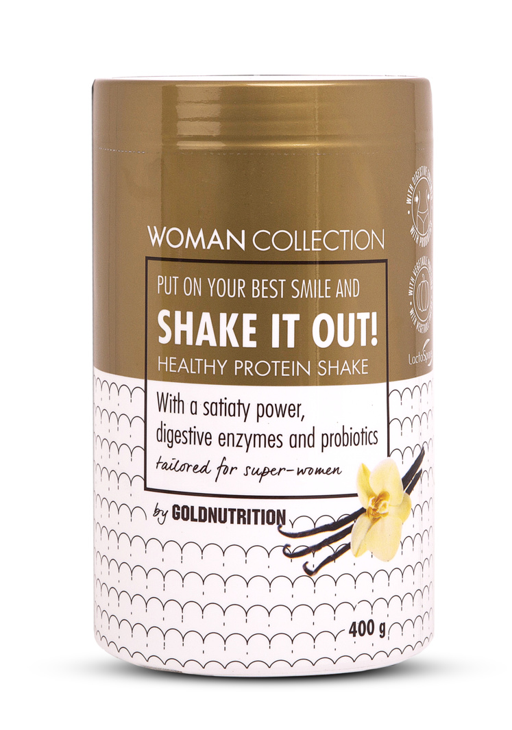 Woman Collection Shake It Out - Pudra proteica Vanilie 400g