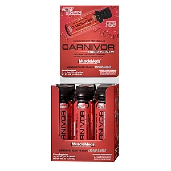 MuscleMeds CARNIVOR - Liquid Protein Shots - Power Punch 118 ml