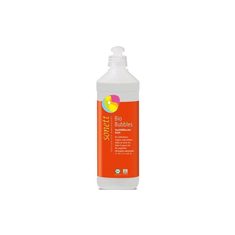 Baloane de sapun ecologice refill 500ml, Sonett