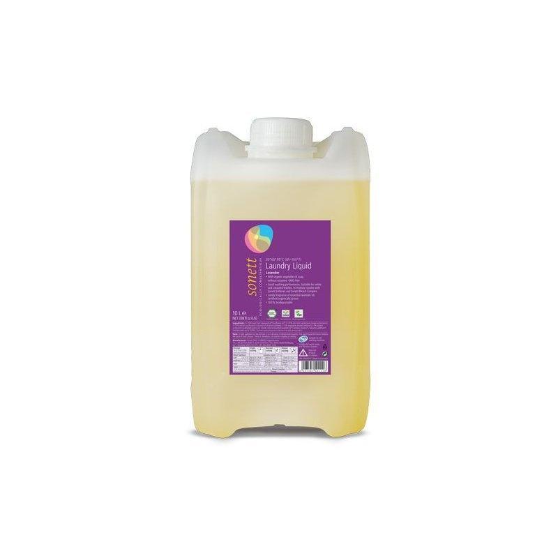 Detergent ecologic lichid pt. rufe albe si colorate cu lavanda 10L, Sonett