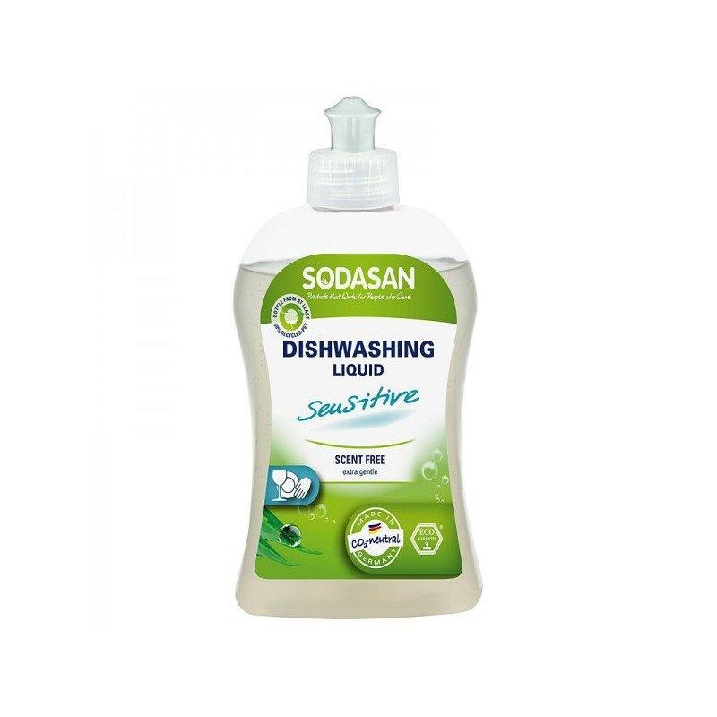 Detergent Vase Lichid Bio Sensitiv 500 ml Sodasan