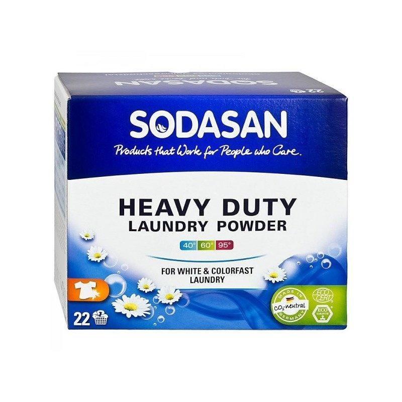 Detergent Praf Bio Pentru Spalari Grele Rufe Albe si Color 1,2 kg Sodasan