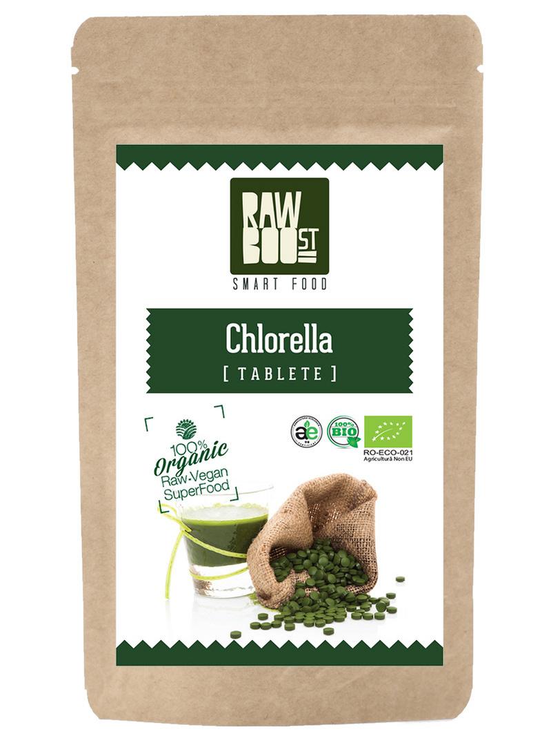 Chlorella tablete ecologice 250g