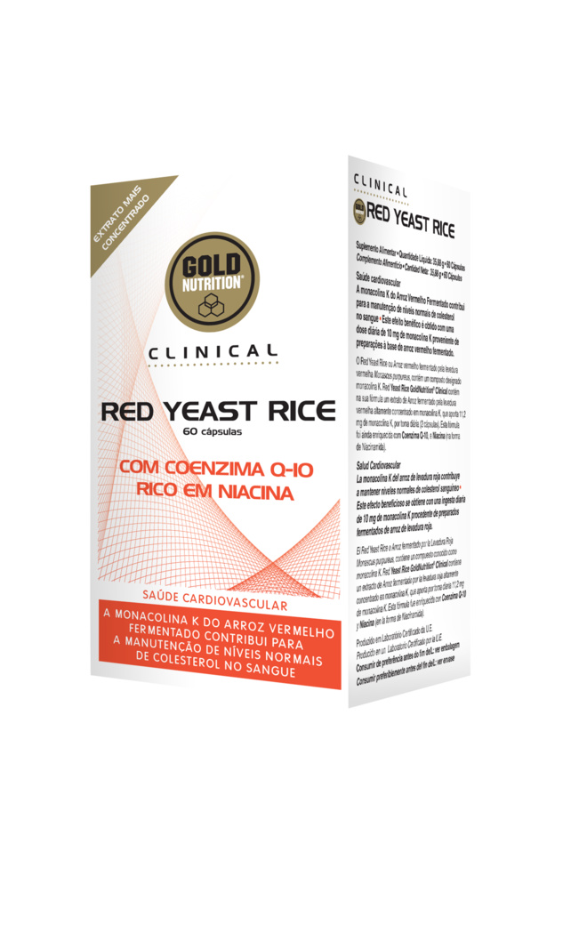 GOLDNUTRITION CLINICAL RED YEAST RICE 60 CPS