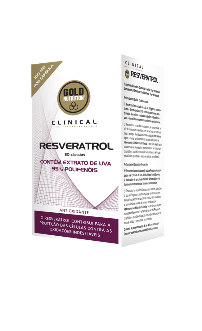 GOLDNUTRITION CLINICAL RESVERATROL 30 CPS